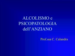 3 lezione(alcolismo)