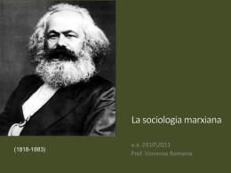 La_sociologia_marxiana - Lettere e Filosofia