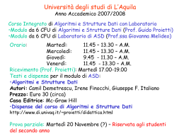 Clicca qui. - University of L`Aquila