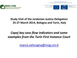 I meccanismi di coordinamento negli uffici giudiziari