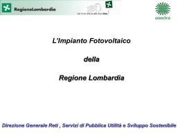 Direzione Generale Reti , Servizi di Pubblica Utilità e Sviluppo