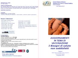 Diapositiva 1 - Portale Medici Di