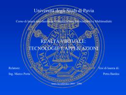 BARDEA - Cim - Università degli studi di Pavia
