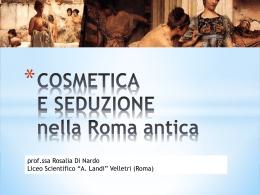 La cosmetica antica