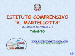 SCUOLA PRIMARIA - Istituto Comprensivo Martellotta