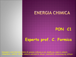 L`energia in chimica
