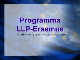 Programma Erasmus