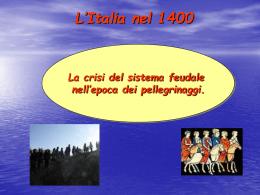 La crisi del feudalesimo