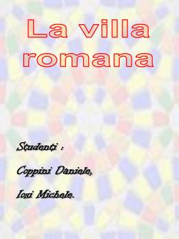Le ville romane - Comune di Civitanova Marche