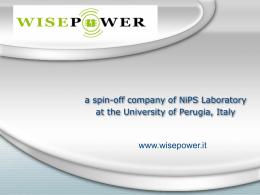wisepower-presentazione