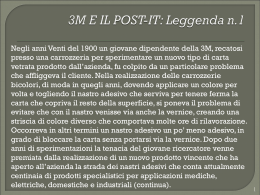 3M e il Post-it (vnd.ms-powerpoint, it, 870 KB, 10/30/12)