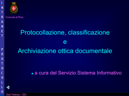 Intranet Protocollo