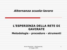 """la ricerca-azione 2006 – `07 - isis """"e. stein"""" gavirate vais01200q"""