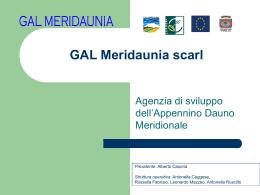 "Società Consortile ""GAL Meridaunia"""