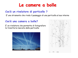 Le camere a bolle