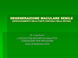 degenerazione-maculare-senile ppt