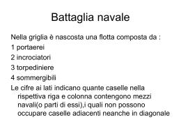 Battaglia navale - Oriana Pagliarone