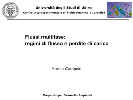 Flussi multifase