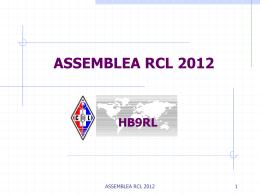 Rapporto Presidenziale 2012