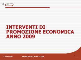 Contributi alle imprese per l - Camera di Commercio di Ferrara