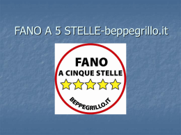 FANO A 5 STELLE-beppegrillo.it