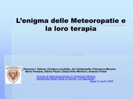 CRONOBIOLOGIA - Villaggio Globale