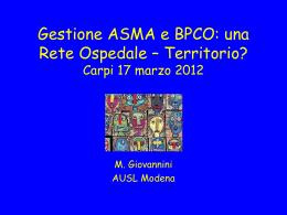 Gestione ASMA BPCO - Cooperativa dei Medici di Famiglia dell