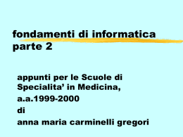 medici2 - UniNa STiDuE