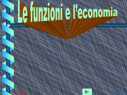 Le funzioni economiche