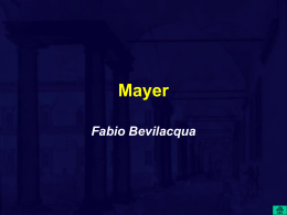 Mayer e l`equivalente