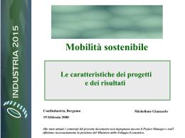 DOCUMENTO Presentazione Michellone - Mobilità