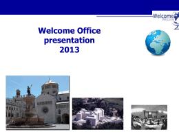 Presentazione di PowerPoint - Università degli Studi di Trento