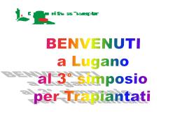 Presentazione simposio Lugano 2008