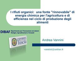Presentazione di Andrea Vannini