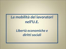 Dir lav UE 2010 11 (5) Mobilità lavoratori