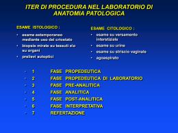 Nessun titolo diapositiva - Corso di Laurea in Tecniche di