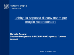 Le procedure legislative - Università degli Studi di Pavia