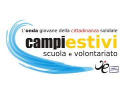 Campo estivo - Centro di Servizi per il Volontariato di Palermo