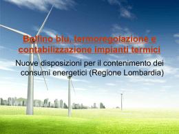 contabilizzazione calore - Certificazione Energetica