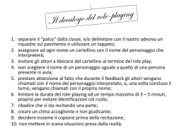 7 decalogo role playing