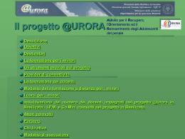 Il progetto @URORA - Ufficio Scolastico Regionale per la Basilicata