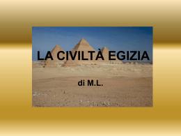 L`ARTE EGIZIA