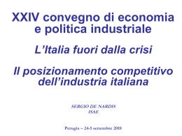 - Economia