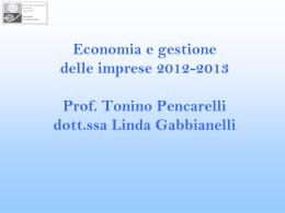 Economia e gestione delle imprese e Tecnica industriale e