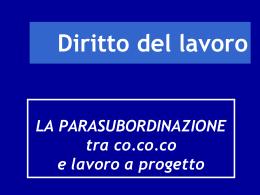 Diapositiva 1 - Dipartimento di Giurisprudenza