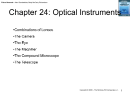 Chapter 24: Optical Instruments