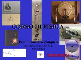 Presentazione in PPT sulla termologia e calorimetria