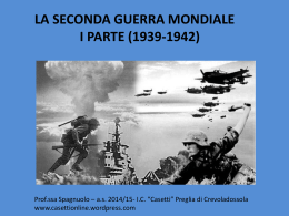 seconda guerra I parte COMPATIBILE
