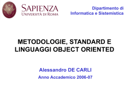 """università degli studi di roma """"la sapienza"""" dipartimento di"""