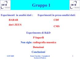 relazione_coord_gr1 - INFN